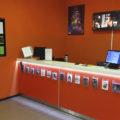 Кассовая зона кинотеатра